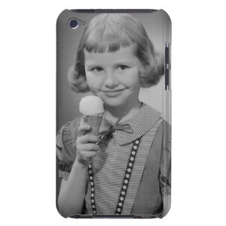 Girl Eating Ice Cream Barely There iPod Cases