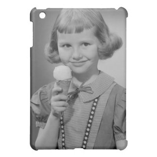 Girl Eating Ice Cream Cover For The iPad Mini