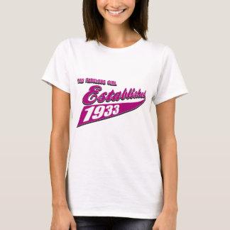 Girl Established 80 T-Shirt