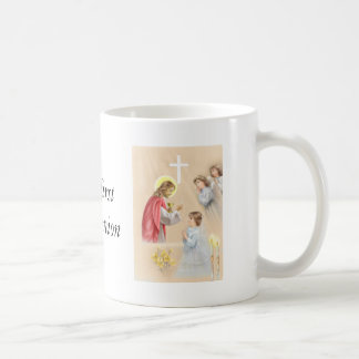 Girl first communion drinking mug