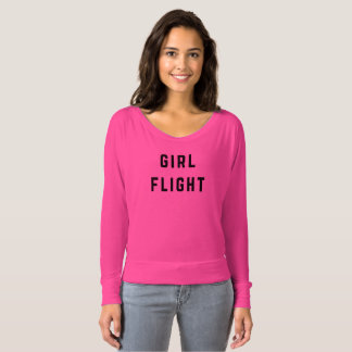 Girl Flight Flowy Long Sleeve Tee