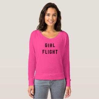 Girl Flight Flowy Long Sleeve Tee