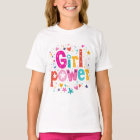 Girl Flower Power! by Mini Brothers T-Shirt