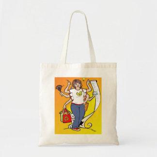 Girl Friday Tote Budget Tote Bag