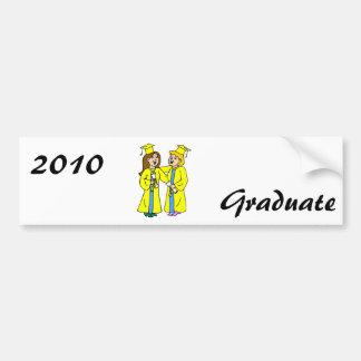 Girl Friends Graduating Bumper Sticker