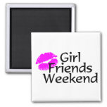 Girl Friends Weekend Magnets