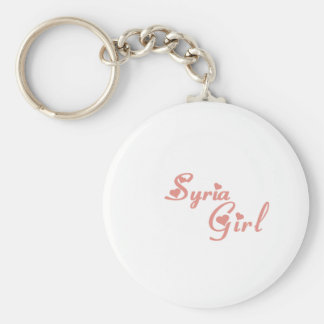Girl from Syria Key Ring
