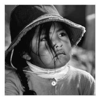 Girl from Titicaca 2 Art Photo