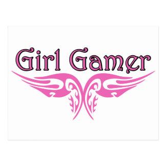 Girl Gamer Postcard