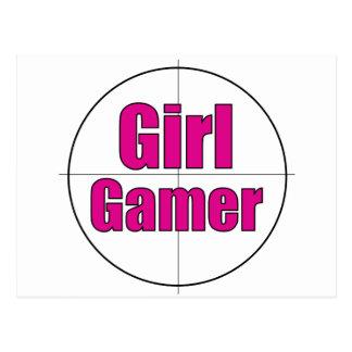 Girl Gamer Postcards