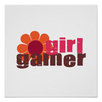 Girl Gamer Poster