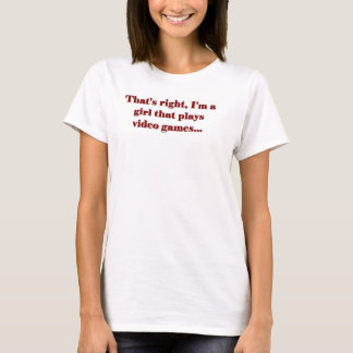 Girl Gamer T-Shirt
