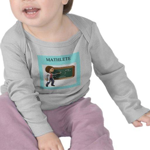 girl geek math goddess tee shirts