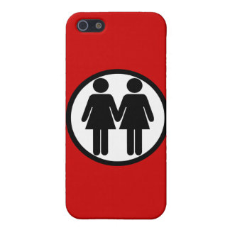 Girl + Girl Circle Cover For iPhone 5/5S