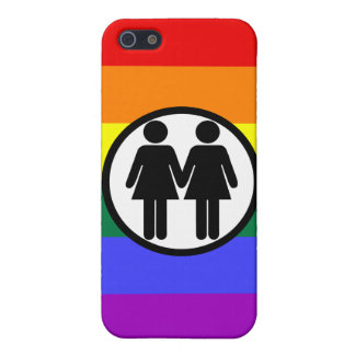 Girl + Girl Rainbow iPhone 5 Cases