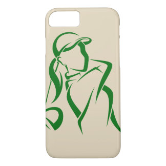 Girl Golfer Teeing Off iPhone 8/7 Case
