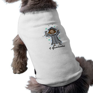 Girl Grad Celebration Dog T Shirt