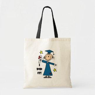 Girl Graduate Tote Bag