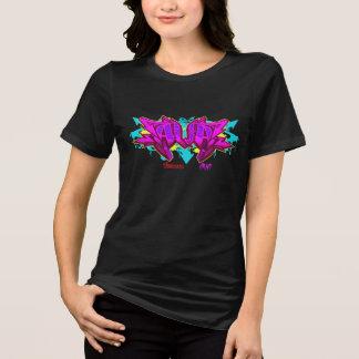 Girl Graffiti: Ava Streetwear T-Shirt