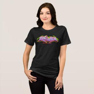 Girl Graffiti: Hailey Streetwear T-Shirt