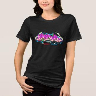 Girl Graffiti: Makayla Streetwear T-Shirt