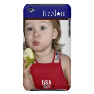 Girl & Green Apple Ipod Touch Cover
