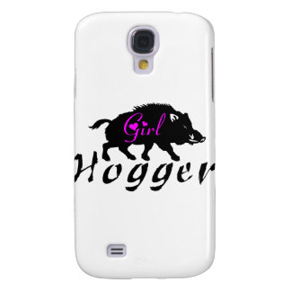 GIRL HOG HUNTER GALAXY S4 CASE