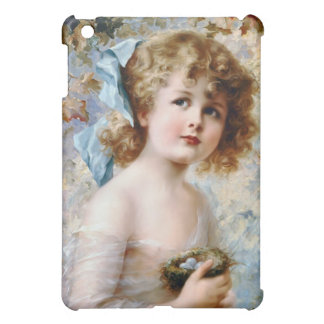 Girl Holding Bird Nest Case For The iPad Mini