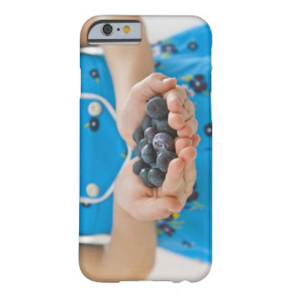 Girl holding fresh blueberries barely there iPhone 6 case