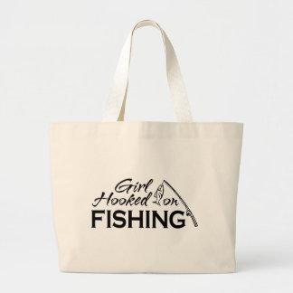 Girl Hooked on Fishing Bags