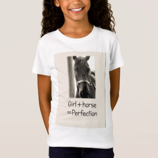 Girl + Horse = Perfection T-Shirt