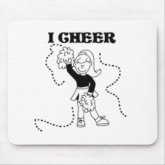 Girl I Cheer Tshirts and Gifts Mouse Pad