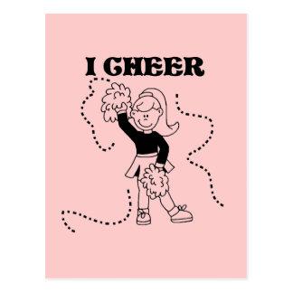 Girl I Cheer Tshirts and Gifts Postcard