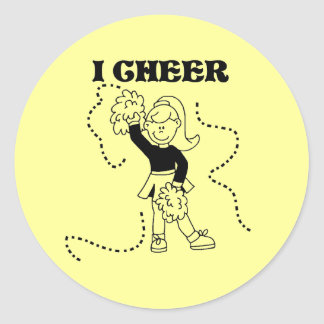 Girl I Cheer Tshirts and Gifts Stickers
