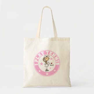 Girl I Play Tennis Tshirts and gifts Tote Bag