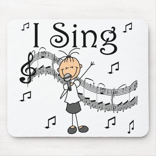 Girl I Sing Mousepad
