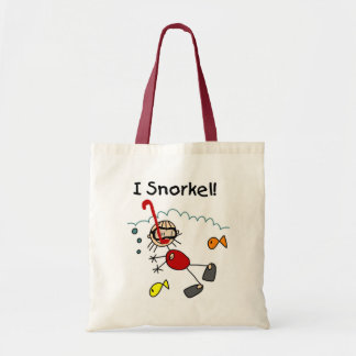Girl I Snorkel T-shirts and Gifts Tote Bag