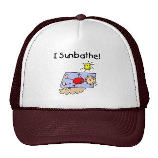 Girl I Sunbathe Hat