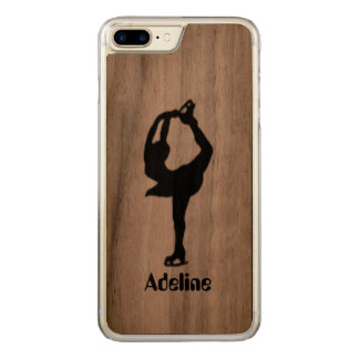 Girl Ice Skating Figure Skating Carved iPhone 8 Plus/7 Plus Case