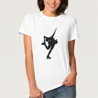 Girl ice skating shirt