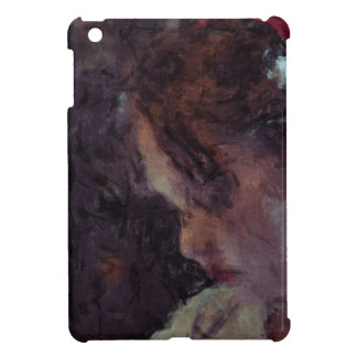 Girl - Impressionist Art by Johannes Krantz Cover For The iPad Mini