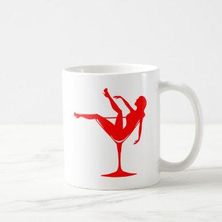 Girl in a Cocktail Glass Coffee Mug