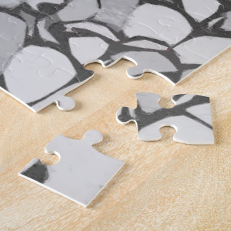 Girl in a crowd jigsaw puzzle