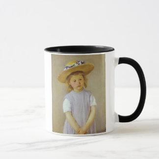 Girl in A Straw Hat, Mary Cassatt