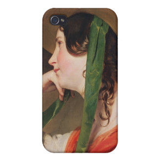 Girl in a Yellow Straw Hat, iPhone 4 Cases
