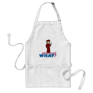 Girl in Cap and Gown Standard Apron