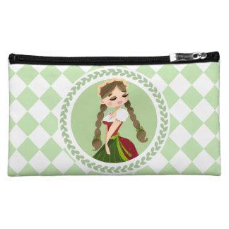 Girl in Dirndl Cosmetic Bag