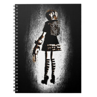Girl in Goth Notebooks