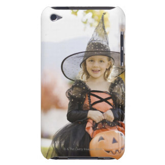 Girl in Halloween costume Case-Mate iPod Touch Case