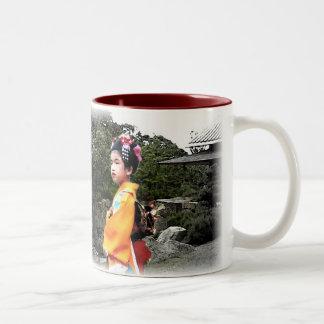 Girl in Kimono Mug